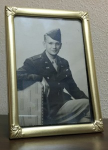 Lt Robert DeGray Fort Knox framed