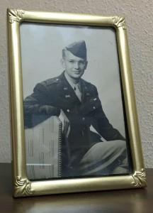 Lt Robert DeGray Fort Knox framed