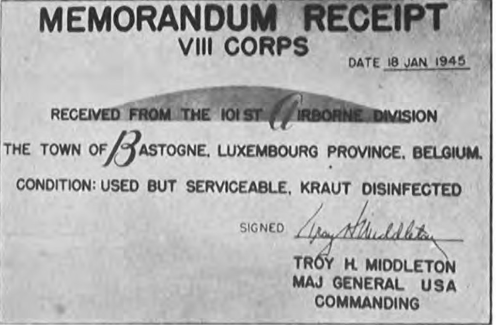 Bastogne: The Story of the First Eight Days