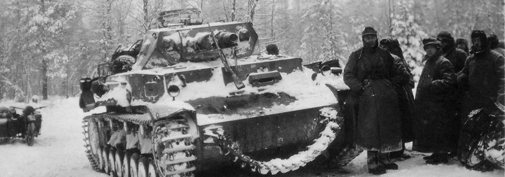 German Mark IV outside moscow feature sized