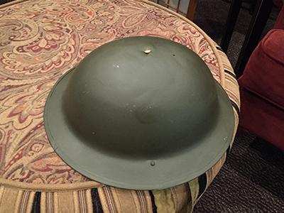 brodie helmet memorabilia small