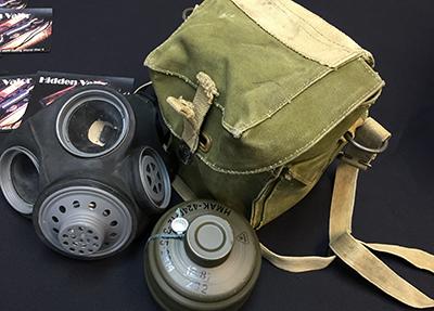 gas mask memorabilia small