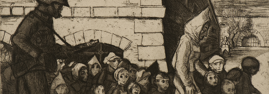 Theresienstadt- Children on the Way to Auschwitz