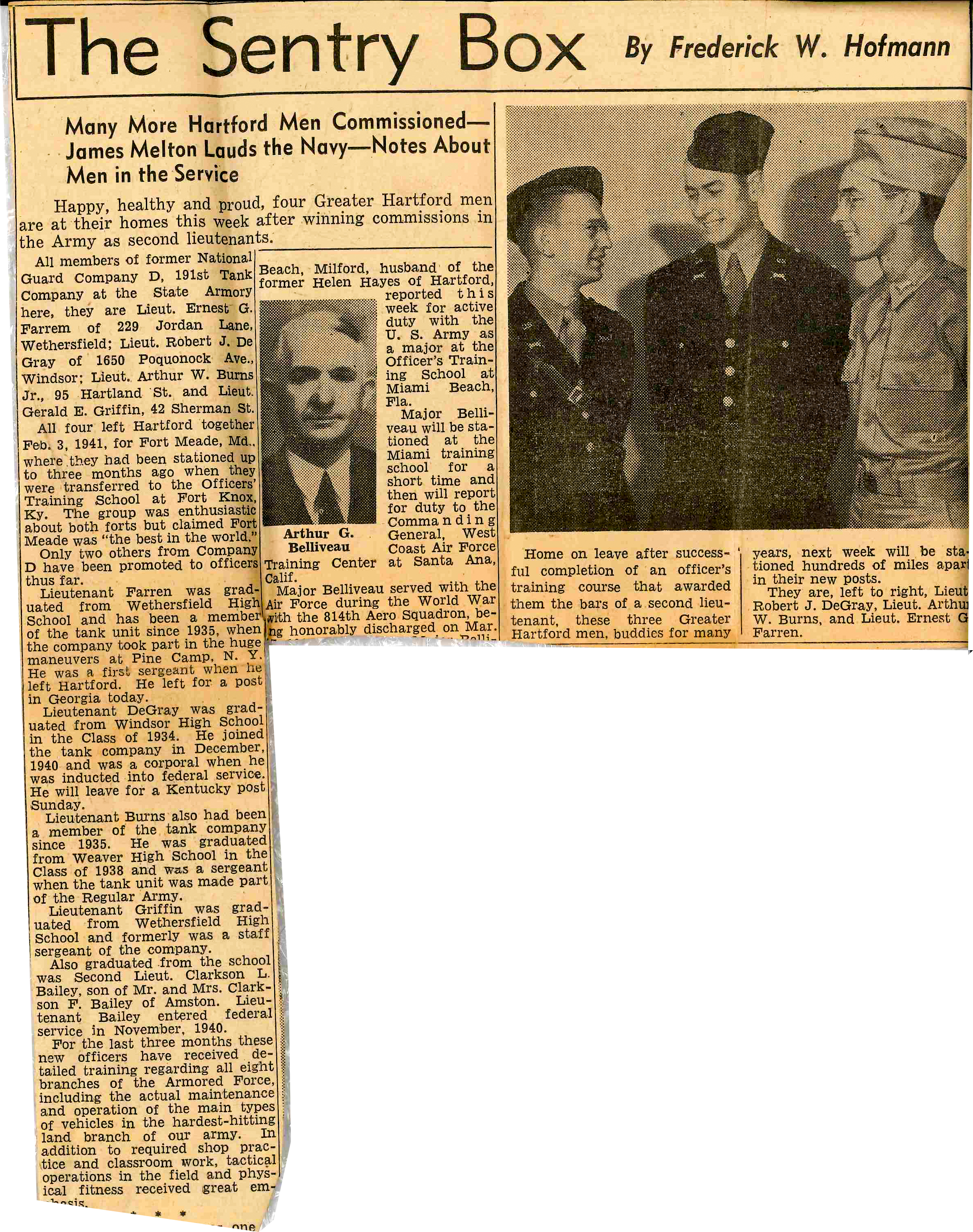 19420301 Hartford Courant Officers